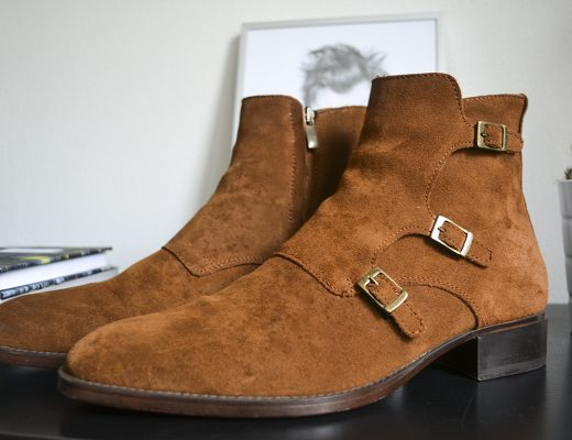 New In: Suede Ankle Boots